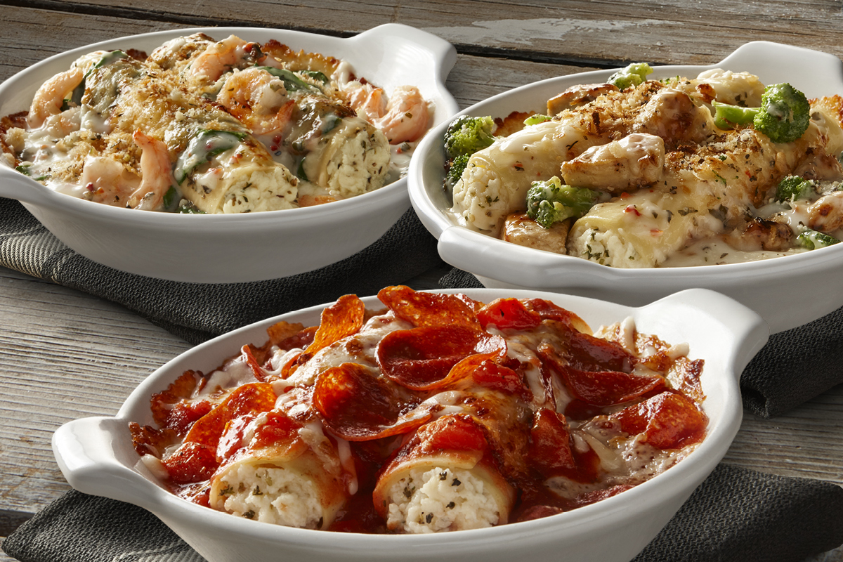 Pizza-Baked Manicotti & Other Dishes