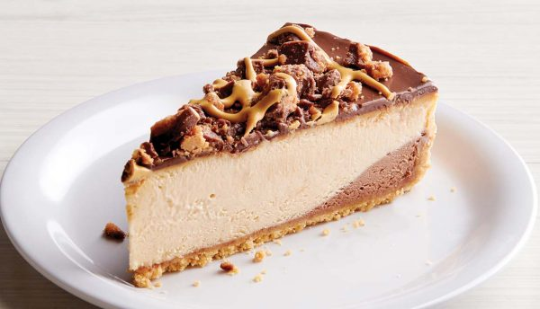 Reese's Peanut Butter Cup Cheesecake Slice