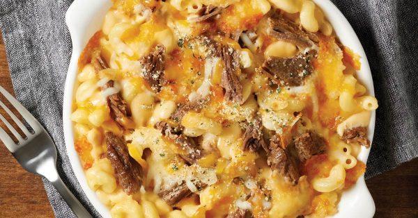 Angus Beef Mac & Cheese