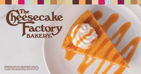 The Cheesecake Factory - Pumpkin Cheesecake